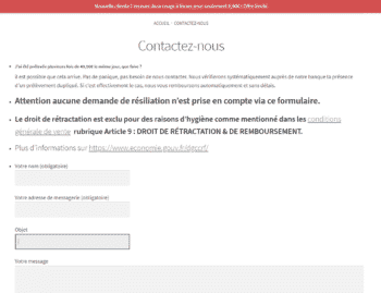 Formulaire De Contact Leeloo Box