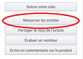 Amazon Retourner Les Articles